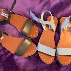 Both pair of Steve Madden sandals